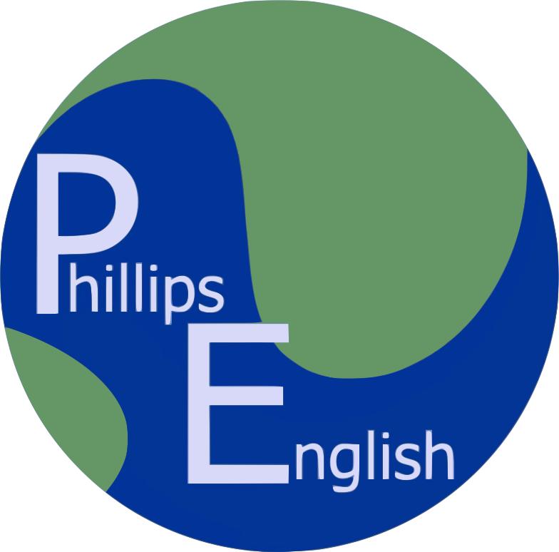 Phillips English Logo